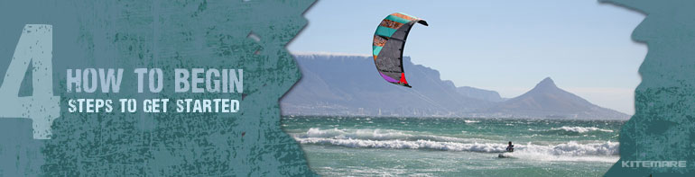 How to Begin Kiteboarding