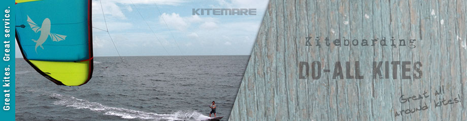 Kiteboarding do-all kites
