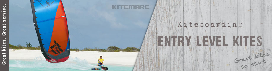 Kiteboarding entry level kites