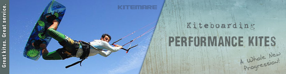 Kiteboarding performance kites