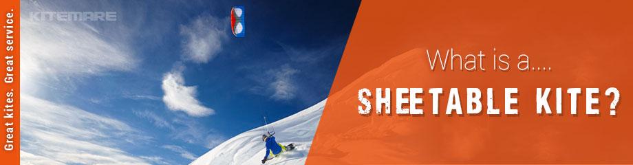 Snowkiting Sheetable Kite