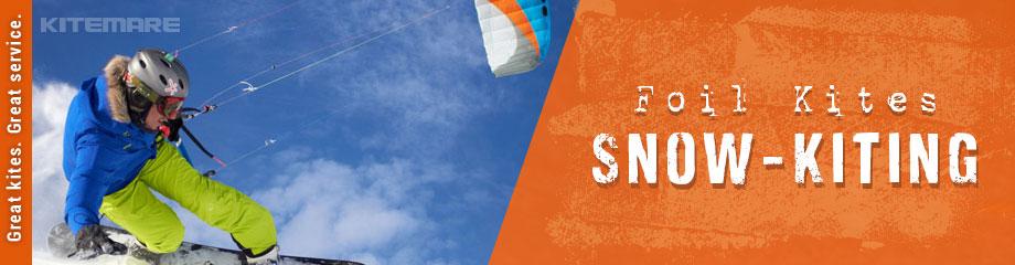 Snowkiting Foil Kites