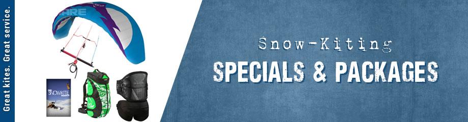 Snowkiting Specials