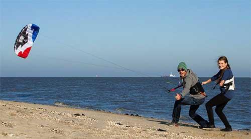 Trainer Kite - 4 Line Rush V School